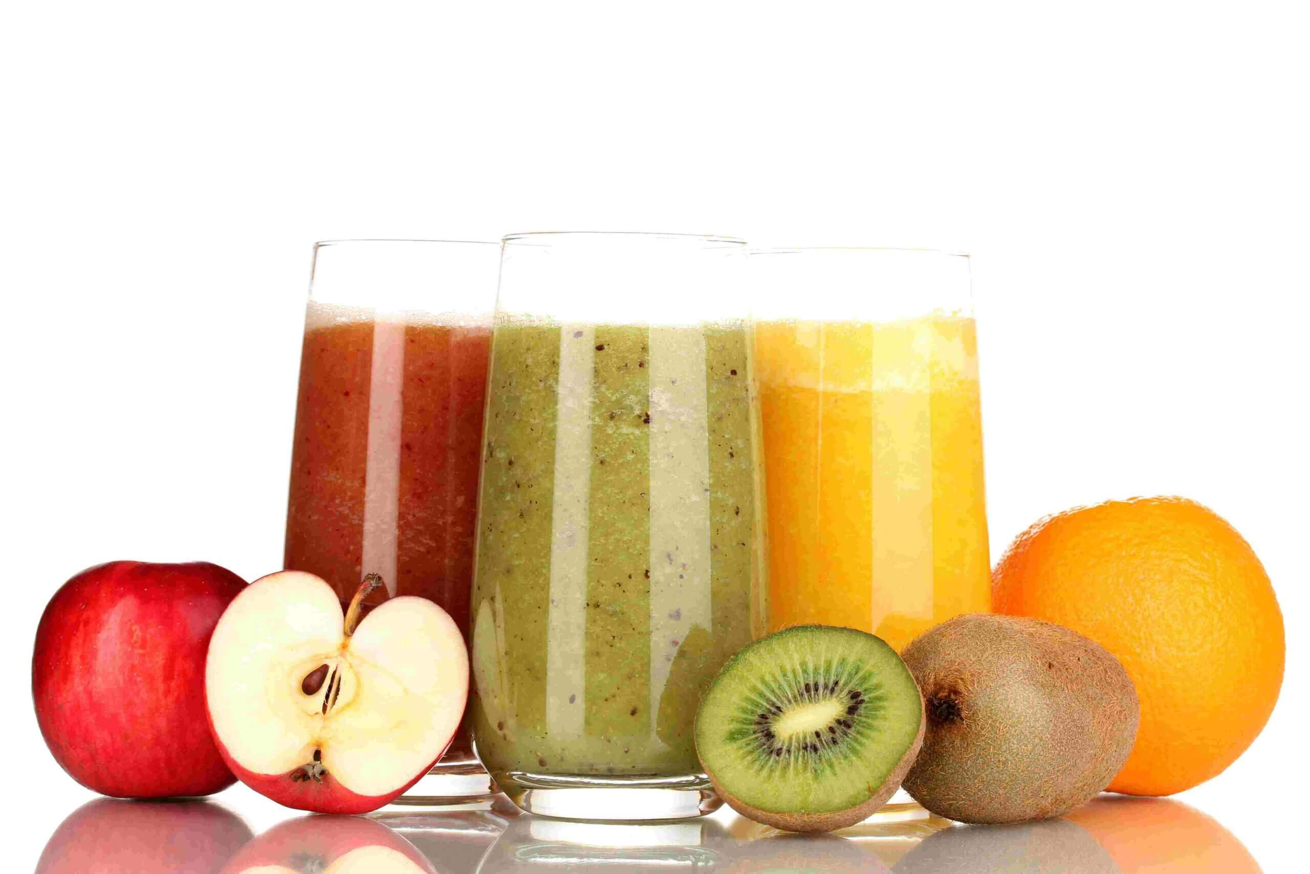 best juicing recipes - orange juice, apple and guava